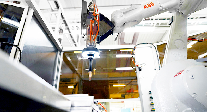 ABB Automated-Laser Welding